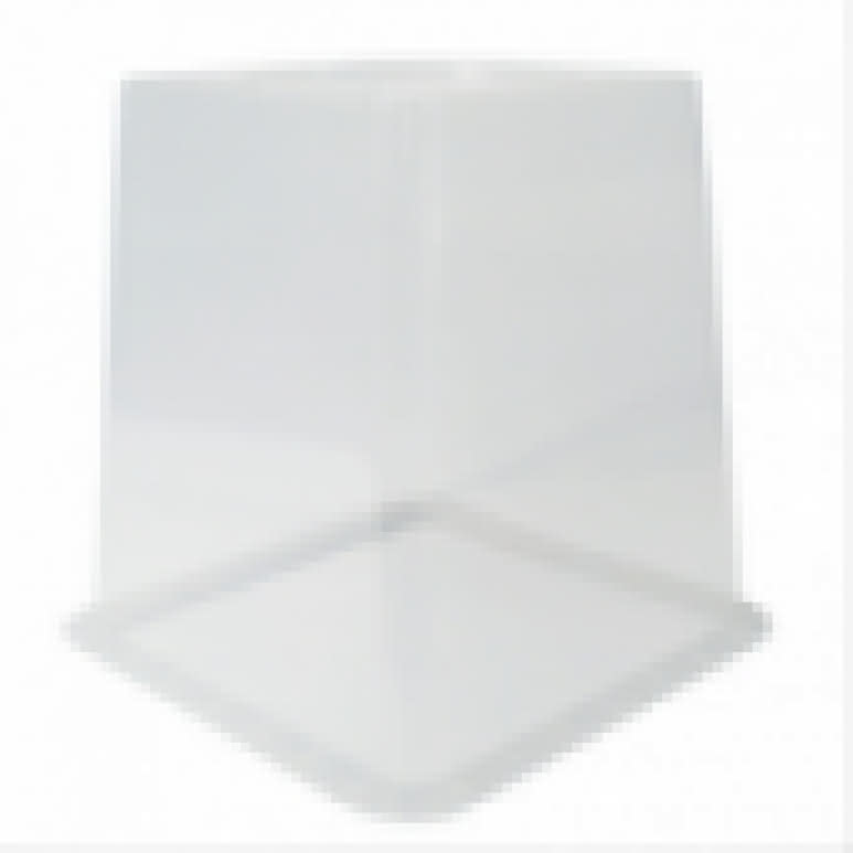 Topf Pflanzcontainer 23x23x26cm eckig 11 Liter