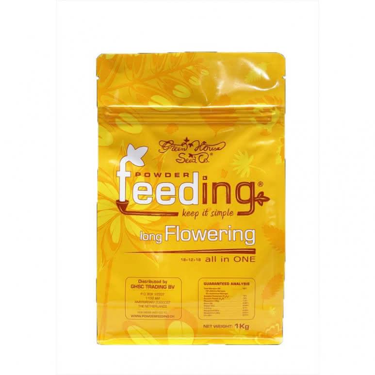Greenhouse Powder-Feeding long Flowering - Blütedünger