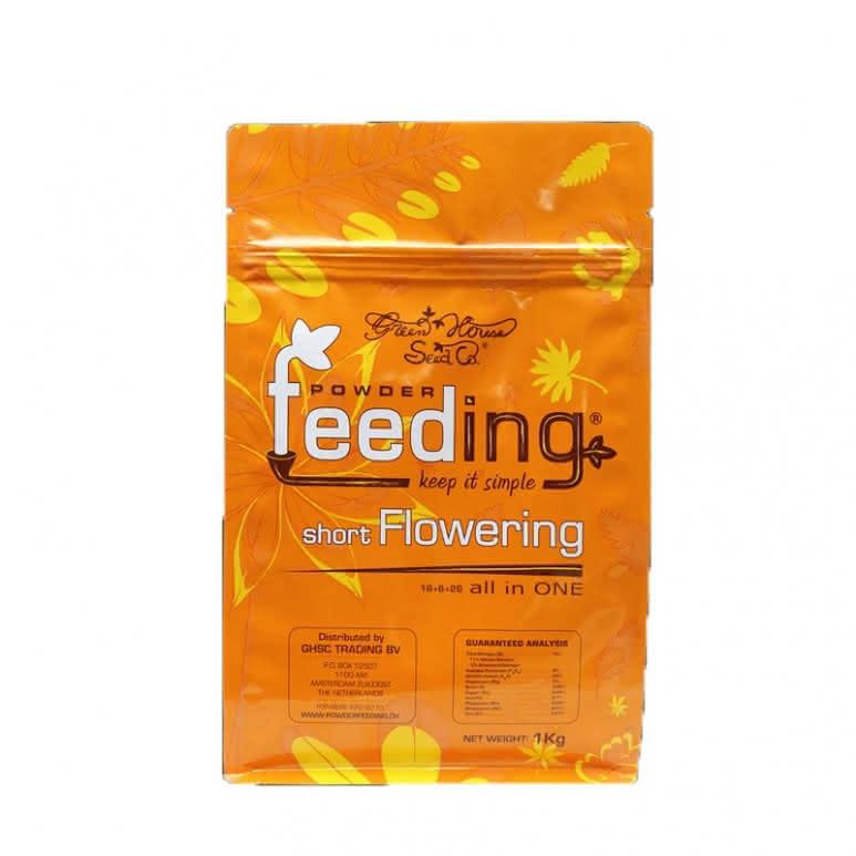 Greenhouse Powder-Feeding Short Flowering - Blütedünger