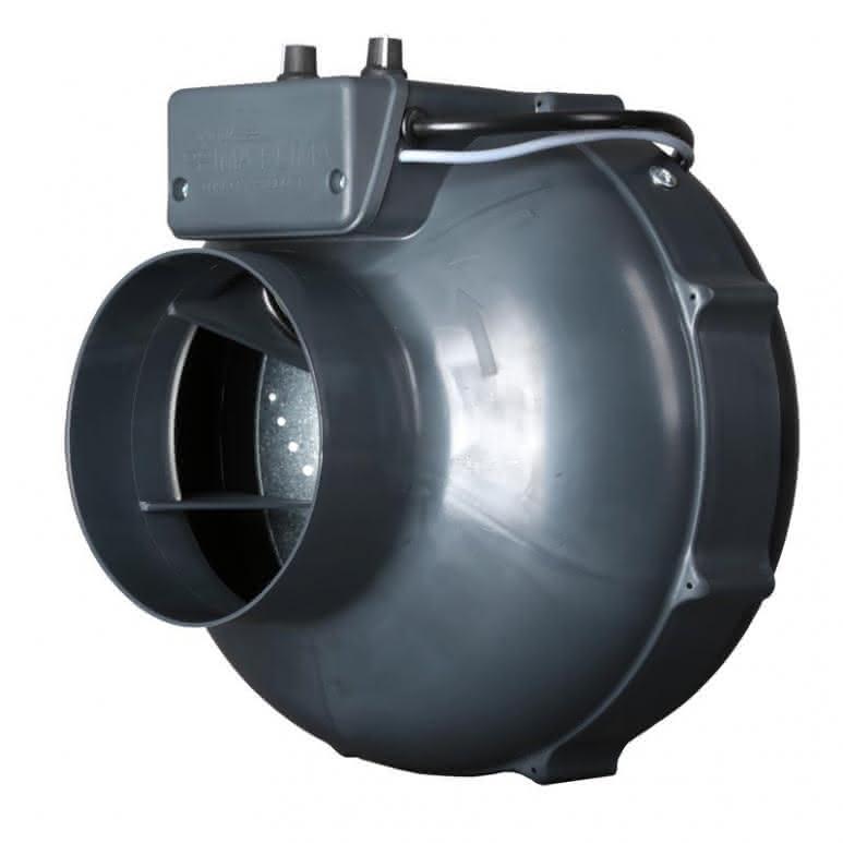 Prima-Klima Rohrventilator temp controlled - 280m³/h - Ø100mm