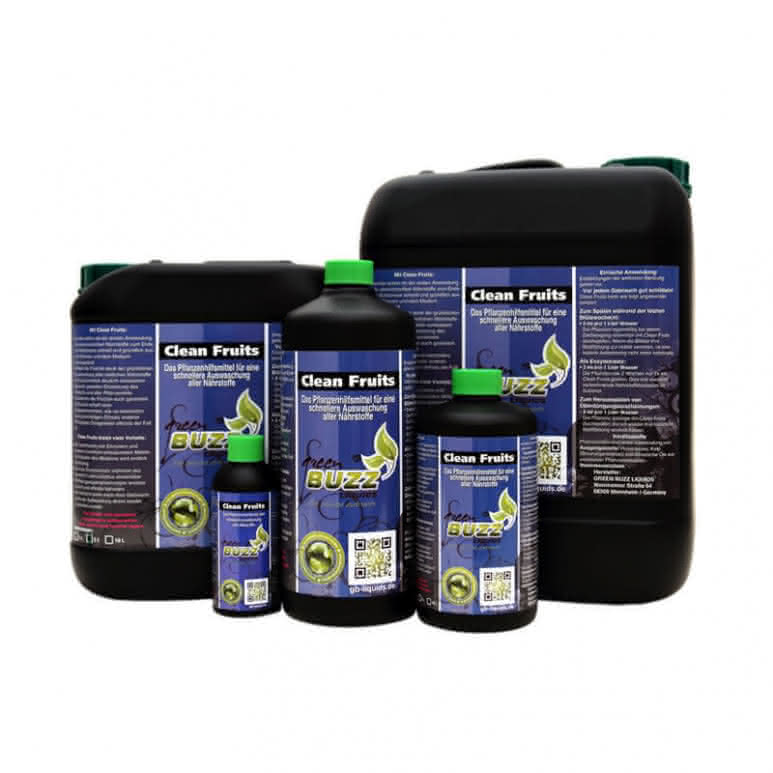 Green Buzz Liquids GBL Clean Fruits - Pflanzenhilfsmittel organisch