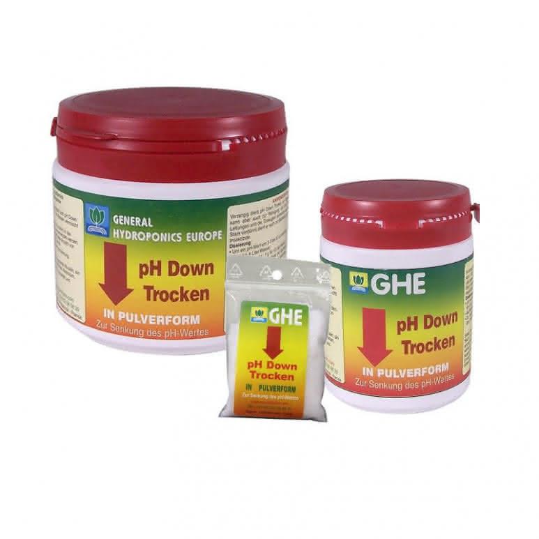 General Hydroponics GHE pH Down Dry - pH-Regulator