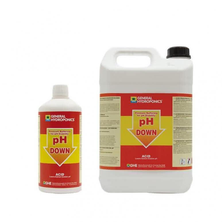 General Hydroponics GHE pH Down - pH-Regulator