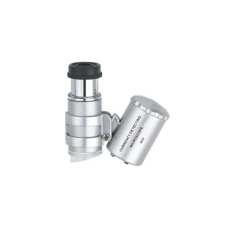 LED Taschenmikroskop 60-fach