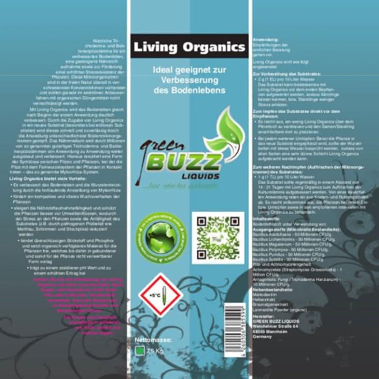 Green Buzz Liquids GBL Living Organics - Trichoderma