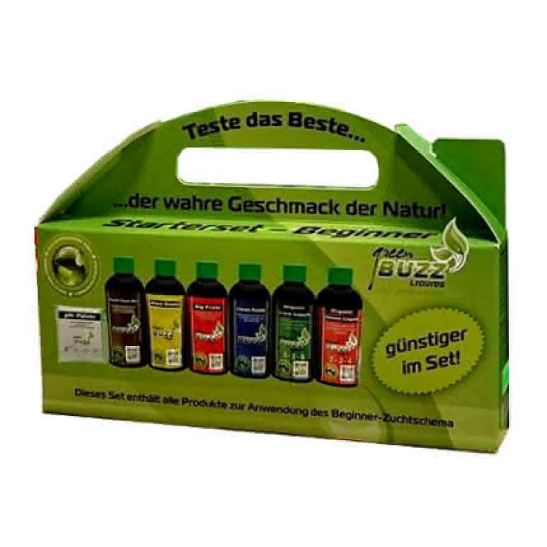 Green Buzz Liquids GBL StarterKit Beginner - 625ml Düngerset
