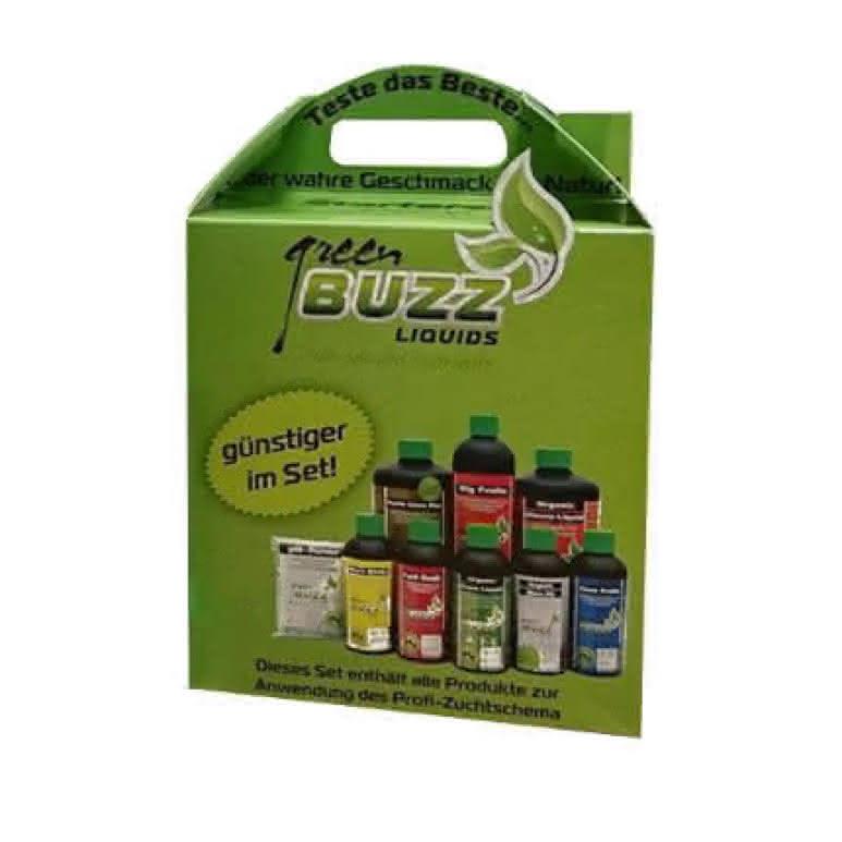 Green Buzz Liquids GBL StarterKit Profi - 1850ml Düngerset