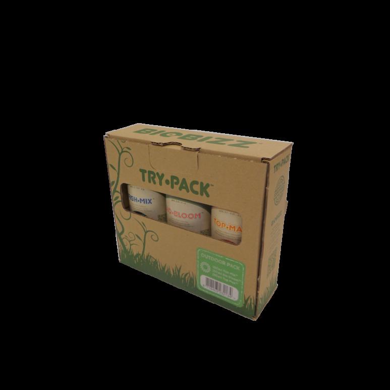 BioBizz® Try-Pack Outdoor - 750ml Düngerset